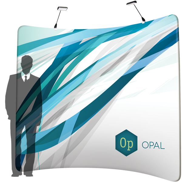 OPAL - Stretch Fabric Display